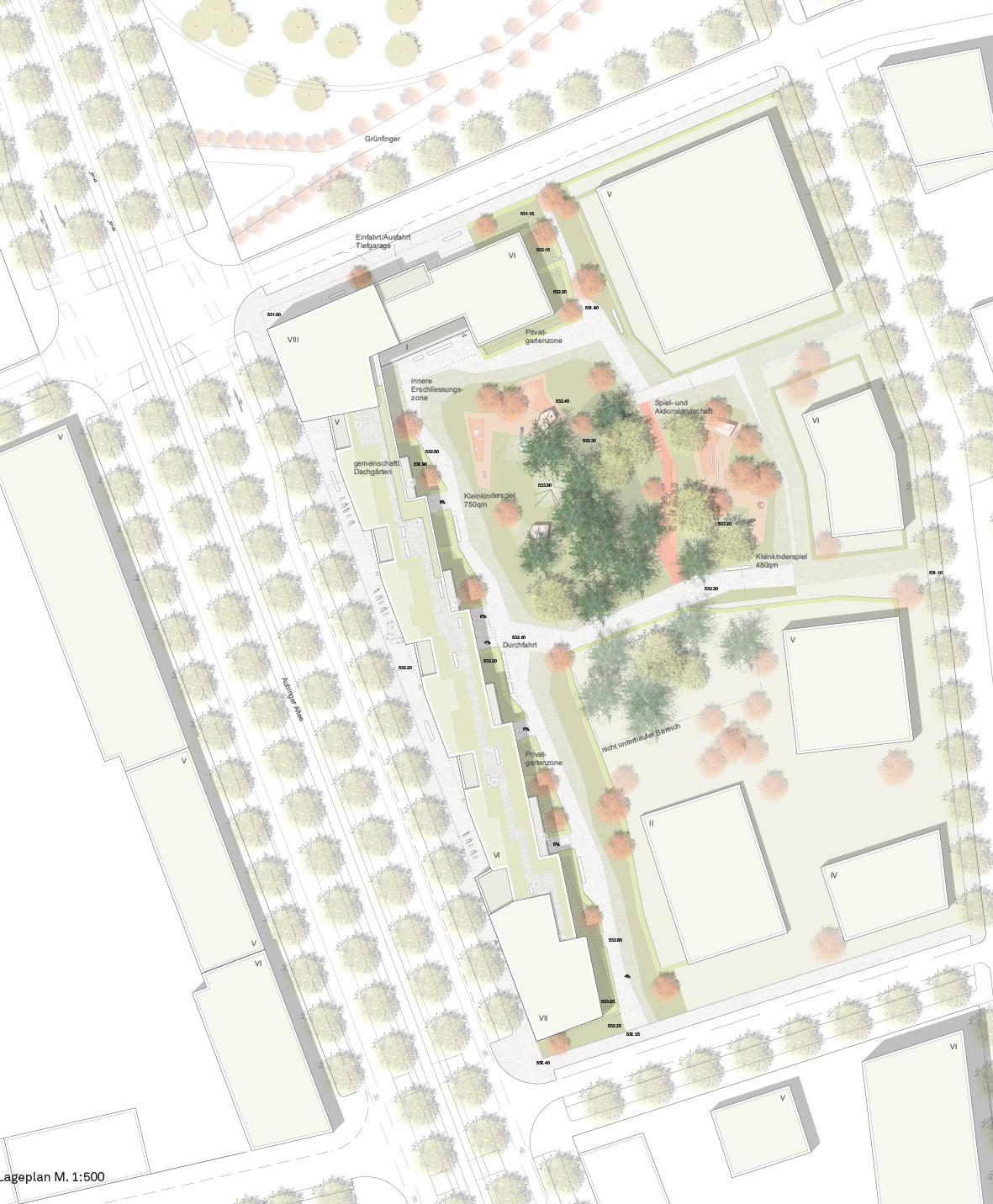 Zweiter realisierungswettbewerb f r freiham nord for 03 architekten