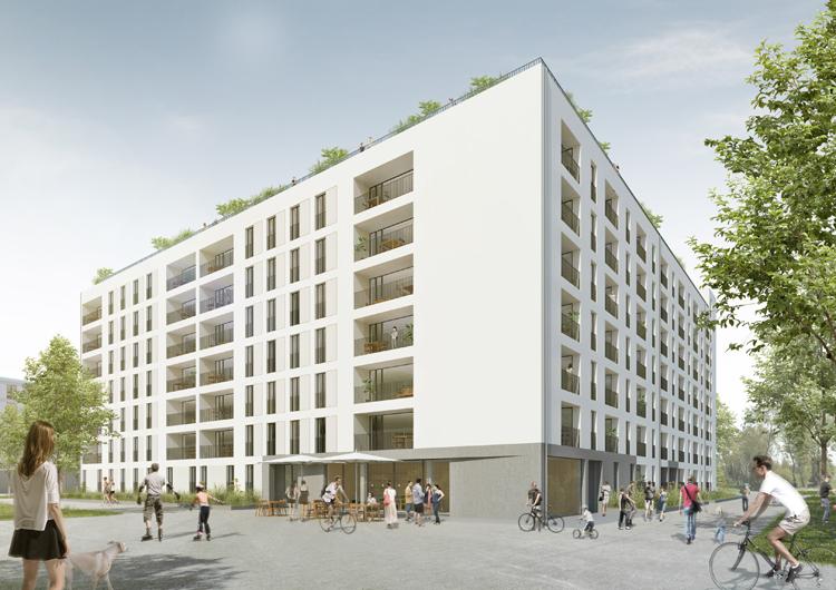 Auftakt F R Neues Stadtquartier Am S Dpark Gewofag